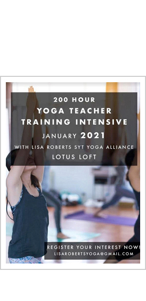 Yoga Teacher Training with Lisa Roberts